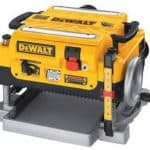 Dewalt DW735 Planer Review
