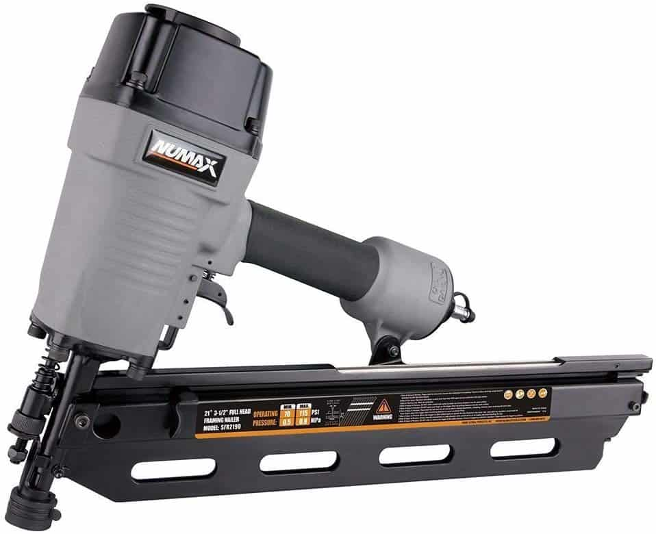 Numax SFR2190 21-Degree Framing Nailer Review