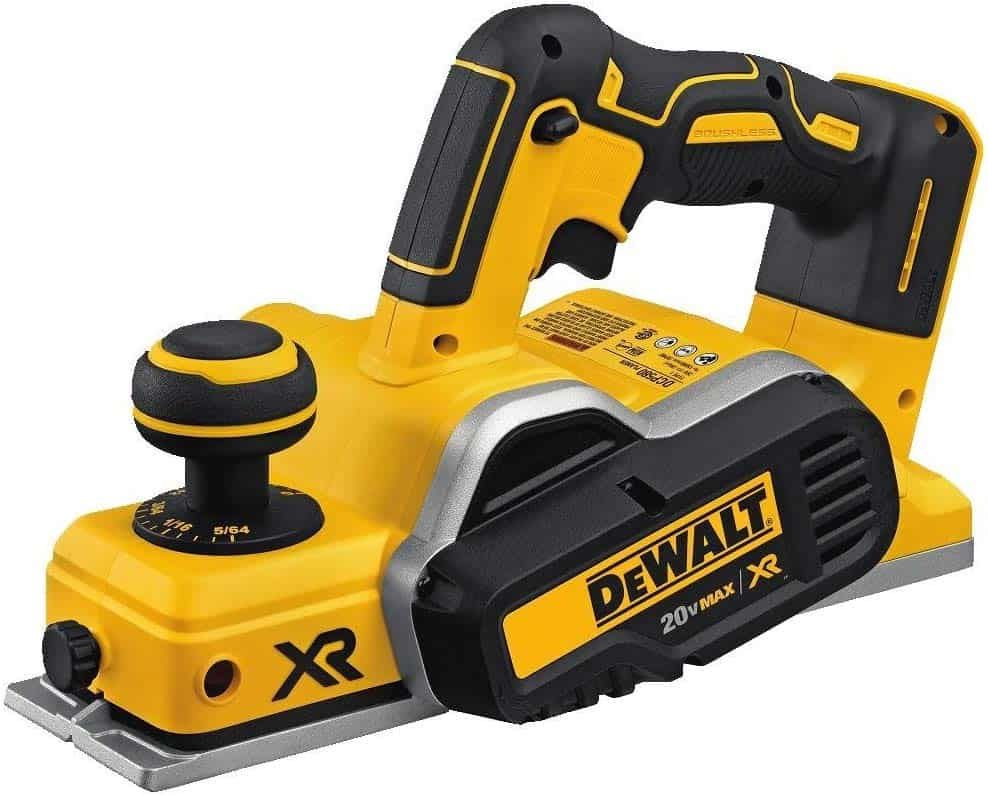Dewalt DCP580B, 20V Max Brushless Planer Review