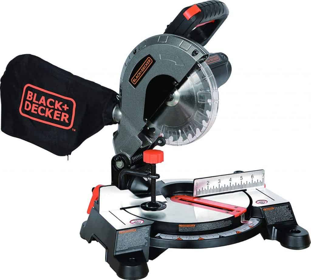 "Black+Decker M1850BD 7-1/4"" Compound Miter Saw"
